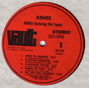 ashes label
